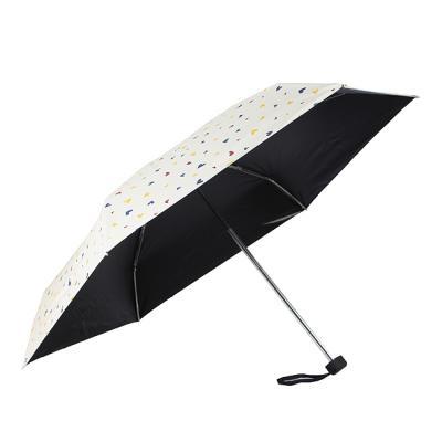 하트방울 양산겸용 우산/자외선차단 수동우산 5단우산