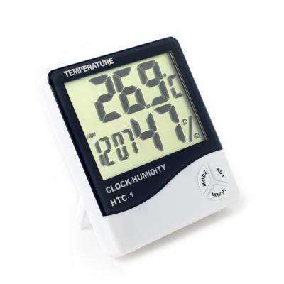 디지털 탁상시계/온도계 습도계 알람시계 무소음시계