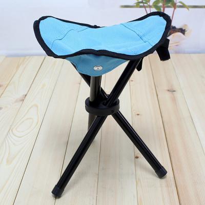 야외용 접이식 삼각발 레저의자