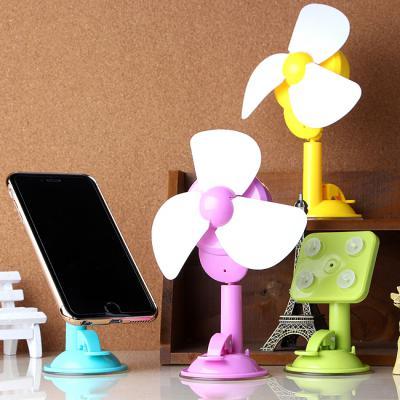 바람개비 USB 멀티 탁상 선풍기&거치대