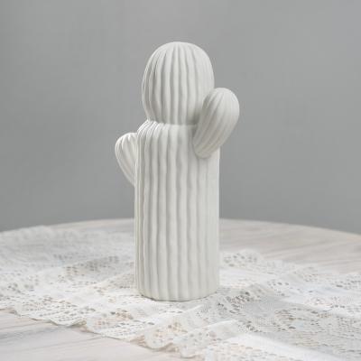 [아트피플-A283]선인장 조각상/도자기 인테리어 장식