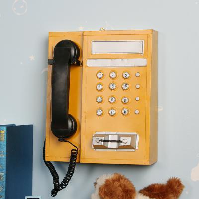 [아트피플-A252]철제모형 공중전화기/엔틱소품 전화기