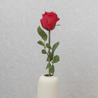 플라워가든 한송이 장미 조화(레드)/장미조화 조화꽃