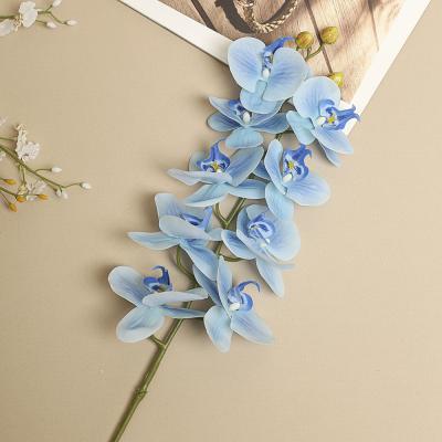호접란 조화(블루)/인테리어 조화꽃 성묘꽃