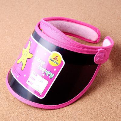 자외선 차단 핑크 키즈 썬캡/아동용 어린이날