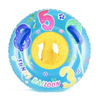 숫자놀이 유아용 튜브(3~4세)(65cm)(블루) 안전인증튜브