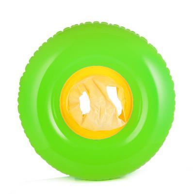 숫자놀이 유아용 튜브(3∼4세)(65cm)(연두) 안전인증튜브