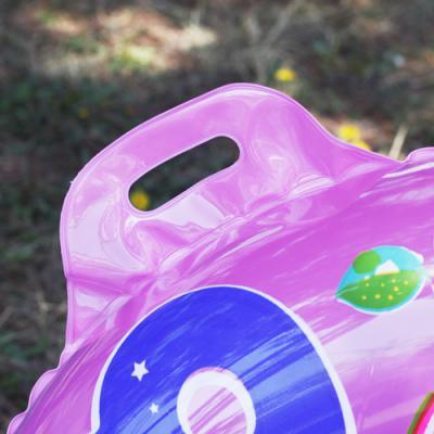 숫자놀이 유아용 튜브(3~4세)(65cm)(핑크) 안전인증튜브