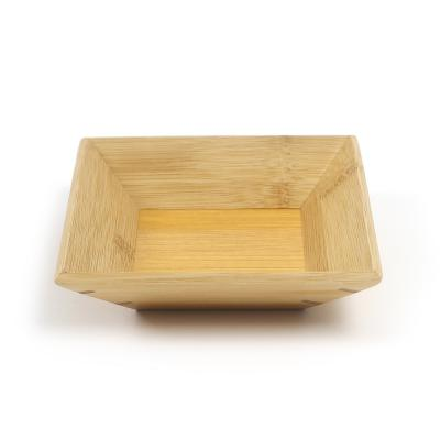 플레이팅 접시 우드 트레이(18cm)