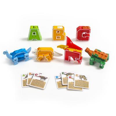 다이노테라 알파벳 변신로봇/조립로봇 공룡로봇 블록