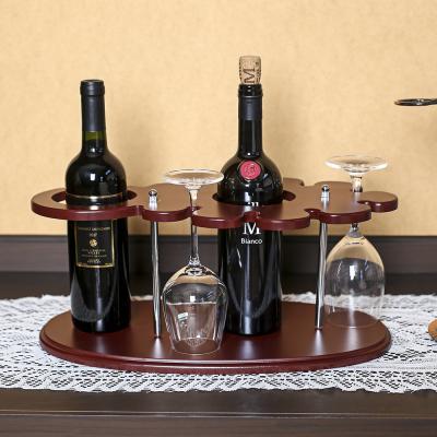 원목 와인잔걸이 와인렉