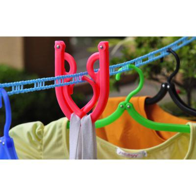 5p 휴대용 접이식 옷걸이/세탁소납품용 잡화점판매