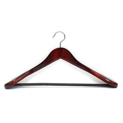고급 원목 양복 옷걸이(초콜릿)/수선집남품용 양장