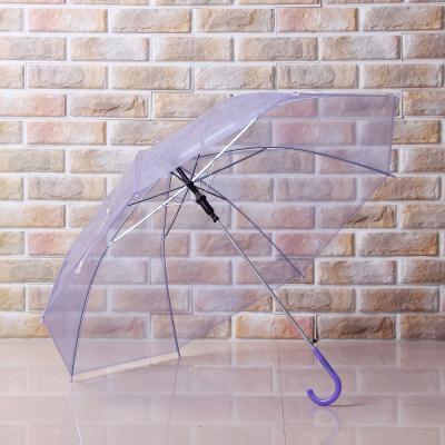 초경랑 견고한 투명 자동 장우산