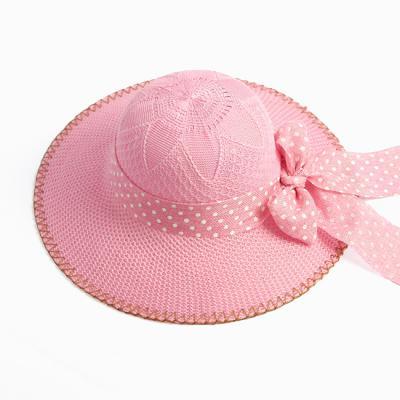 핑크 리본 바캉스 모자