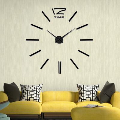 DIY 뉴버전 벽시계 블랙/인테리어벽시계 무소음시계
