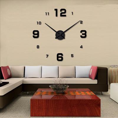 DIY 고딕넘버 벽시계 블랙/인테리어벽시계 무소음시계