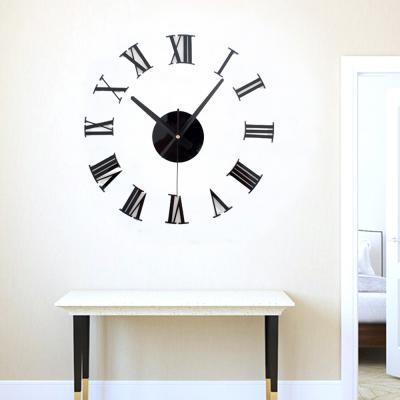 DIY 벽시계 로마 숫자 / 인테리어벽시계 무소음시계