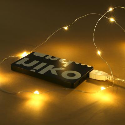 100구 LED 드럼 전구/USB연결 와이어전구