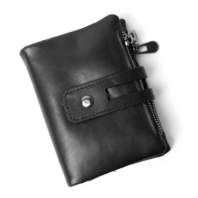베닌 소가죽 반지갑 블랙/지갑선물 카드지갑 남자지갑