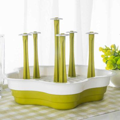 컵건조대 주방컵걸이 물병건조 컵건조기