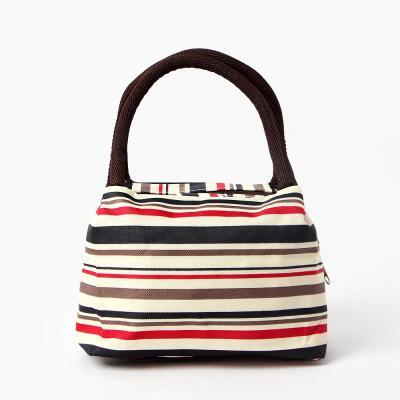 사각 도시락가방 도트백 손가방 도트백
