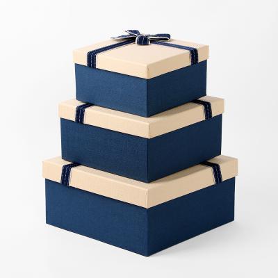 리본 선물케이스 3종세트 고급선물상자