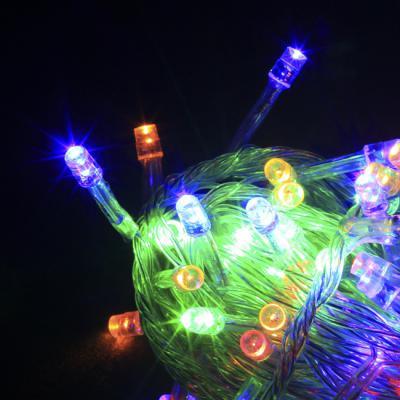 LED 칼라트리전구 100구 대형트리전구 8M (점멸有)