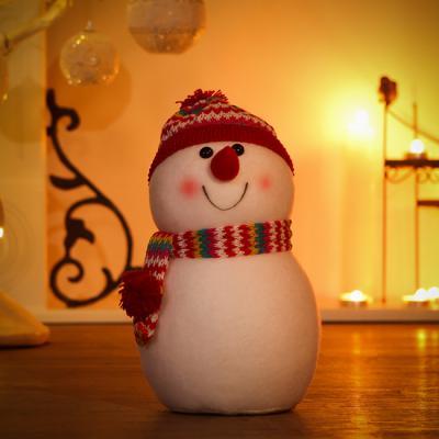 23cm 눈사람 가족 장식/인형세트 크리스마스장식