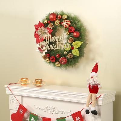 로즈트리 50cm 크리스마스 라운드형리스 트리 장식세트