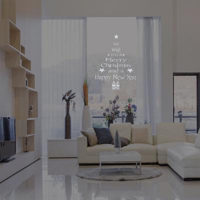 [레몬트리]겨울 크리스마스 장식 유리창 창문 스티커 균일가전