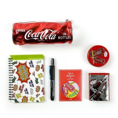 코카콜라 디자인 학용품 문구세트 어린이 선물