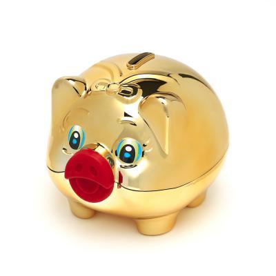 황금돼지 저금통 (대) 동전모으기 복돼지 저금통