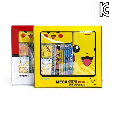피카츄 메가 선물세트 학용품 앞치마 기프트박스