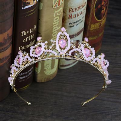 생일파티 용품 티아라 왕관머리띠