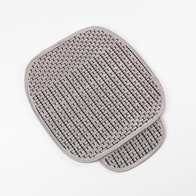 원스카 자동차 쿨시트 방석(싱글)(실버)/차량용방석