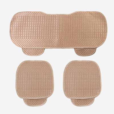 원스카 자동차 쿨시트 방석 3종세트(골드)/차량용방석