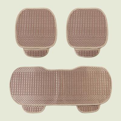 원스카 자동차 쿨시트 3종세트(브라운)/차량용방석