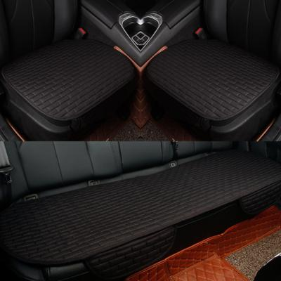 사계절 자동차 방석(블랙)/차량용방석 자동차시트