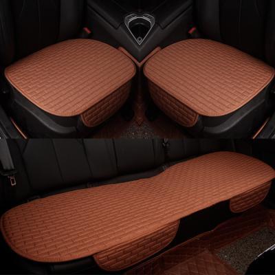 사계절 자동차 방석(브라운)/차량용방석 자동차시트