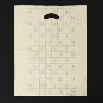 100매 양장비닐봉투(노랑)/비닐쇼핑백 의류 옷봉투