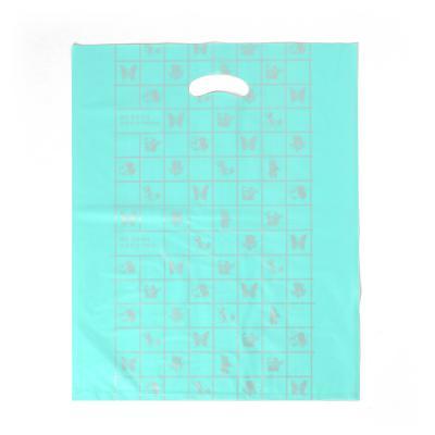 100매 양장비닐봉투(민트)/비닐쇼핑백 의류 옷봉투