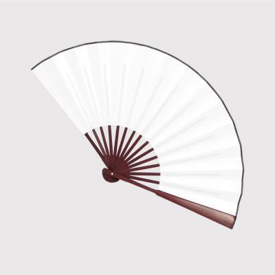 죽림 대나무 부채(다크브라운)/수공예 전통 접이부채
