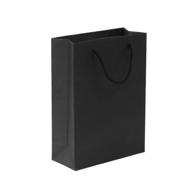 무지 세로형 쇼핑백(블랙)(25x33cm)/종이쇼핑백