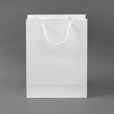 무지 세로형 쇼핑백(화이트) (25x33cm)/종이쇼핑백