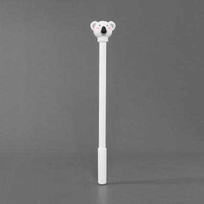 0.5mm 화이트 코알라 캐릭터 볼펜/어린이 단체선물 팬시 볼팬