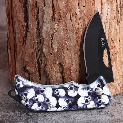 마스터 K301 포켓 캠핑용칼(해골)/등산칼 접이식칼