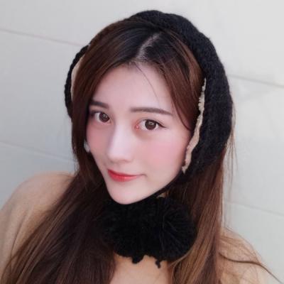 니트 방울 귀도리 / 보온 겨울 귀마개