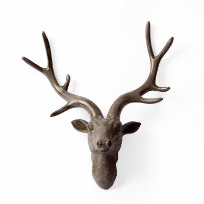 북유럽풍 사슴머리 벽장식/동물 헌팅트로피 머리장식