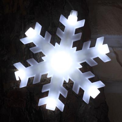 120구 투명선 LED 눈결정 백색전구(2.7M) (점멸有)